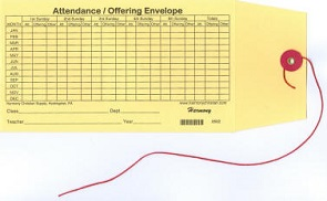 Attendance and Offering Envelope