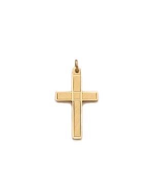 Boy's 14K Gold Filled Cross Necklace